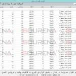 سورنا پردازش - نرم افزار مدیریت درختان - بخش گزارش گیری و قابلیت گزارش گرفتن کاملا سفارشی
